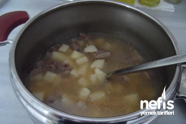 Yoğurtlu Patates Yemeği 2