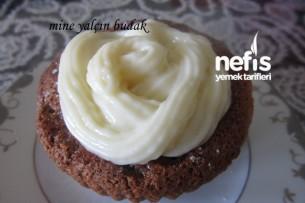4 Malzemeli Nutellalı Muffin Kek Tarifi