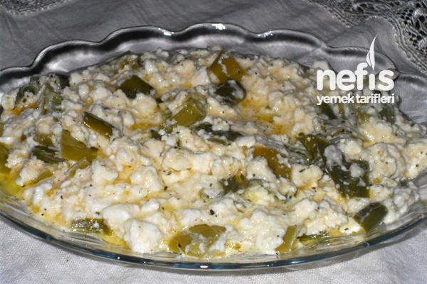 Biberli Peynir Kavurması Tarifi