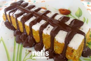 Çikolata Soslu Havuçlu Pasta Tarifi