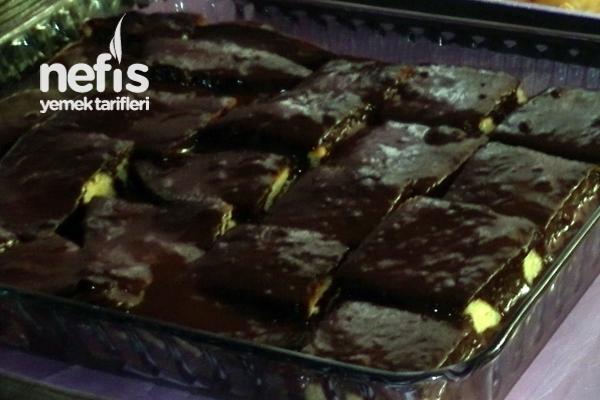 Çikolata Soslu Kek Yapımı Tarifi