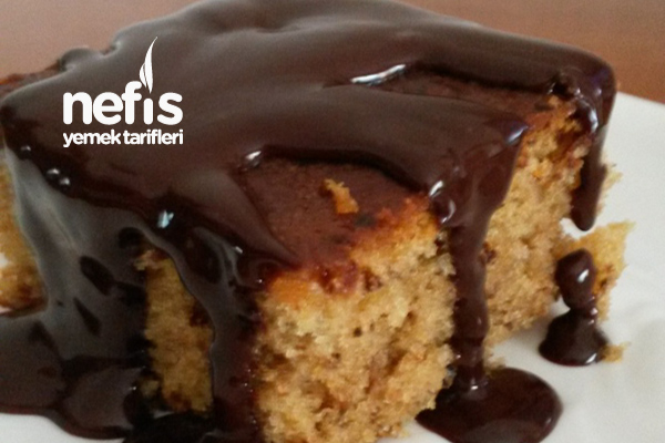 Çikolata Soslu Nescafeli Kek Tarifi