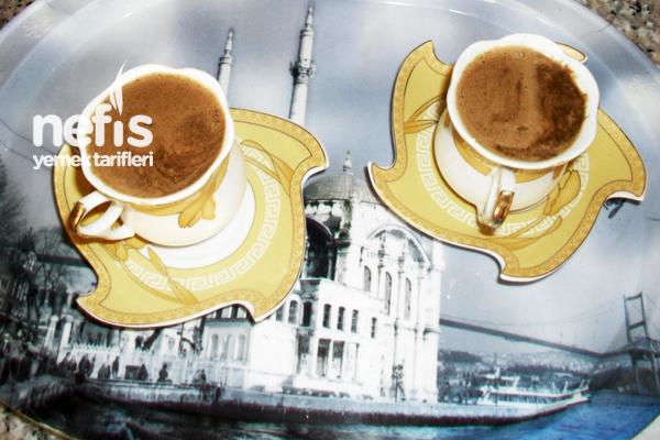 Çikolatalı Türk Kahvesi Yapılışı Tarifi