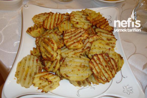 Fırında Cips Patates Tarifi