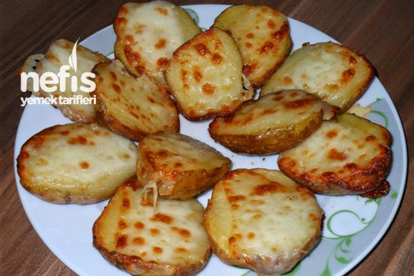 Fırında Kaşarlı Taze Patates Tarifi