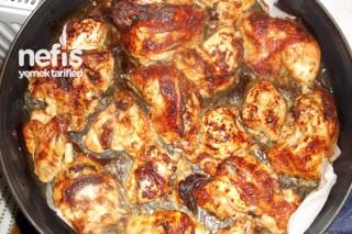 Fırında Ketçaplı Tavuk Tarifi