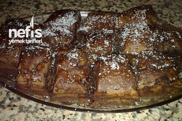 Glutensiz Yeşil Çaylı Browni Tarifi