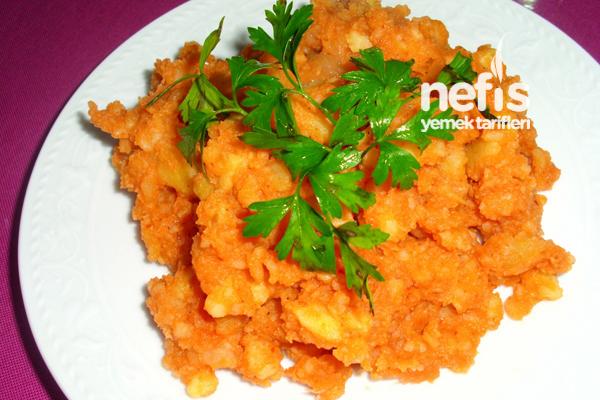 Haşlanmış Patates Kavurması Tarifi