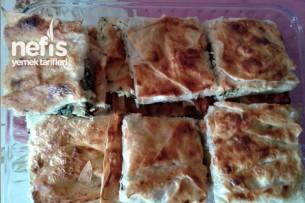 Ispanaklı ve Peynirli Börek Tarifi 1