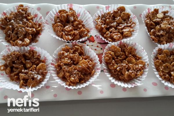 Karamelli Cornflakes (Mısır Gevreği) Tarifi