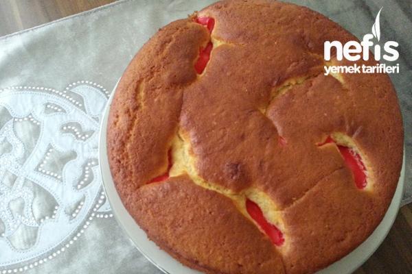 Kırmızılı Magma Kek Tarifi