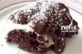 Kremalı Çikolata Soslu Kek Tarifi