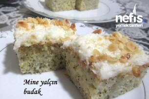 Kremalı Haşhaşlı Islak Kek Tarifi