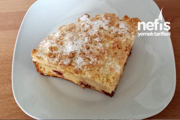 Marmelatlı Kırıntılı Kek Tarifi