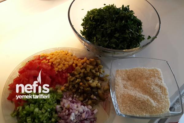 Maydanoz Salatası ( Tabule ) 2