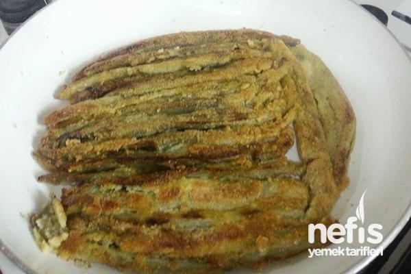 Mısır Unlu Patlıcan Kızartma 3