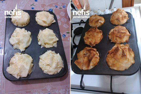 Muffin Kalıbında Patatesli Börek 3
