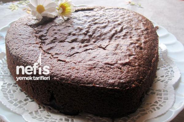 Muhallebisiyle Pişen Kek (Pasta) Tarifi