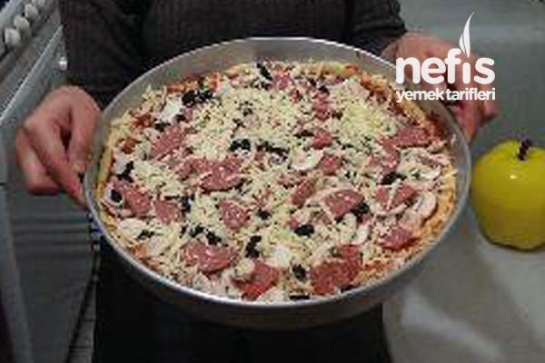 Nefis Pizza Yapılışı 1