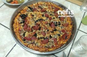 Nefis Pizza Yapılışı Tarifi