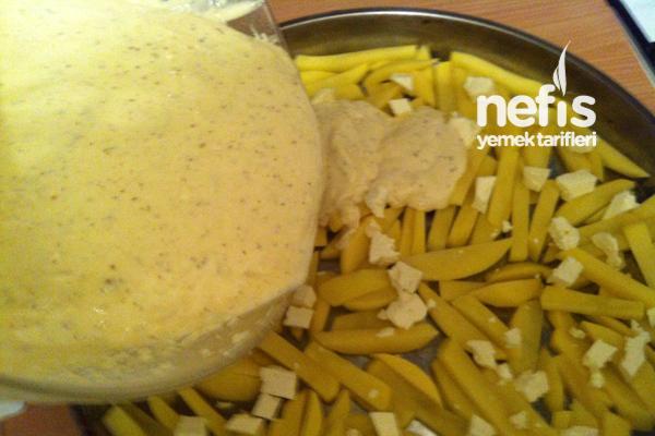 Patatesli Kahvaltı Keki 4