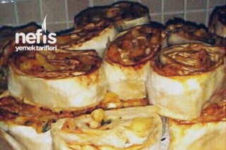 Patatesli Rulo Böreğin Tarifi