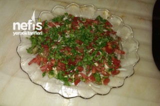 Patlıcanlı Bahar Salatası Tarifi
