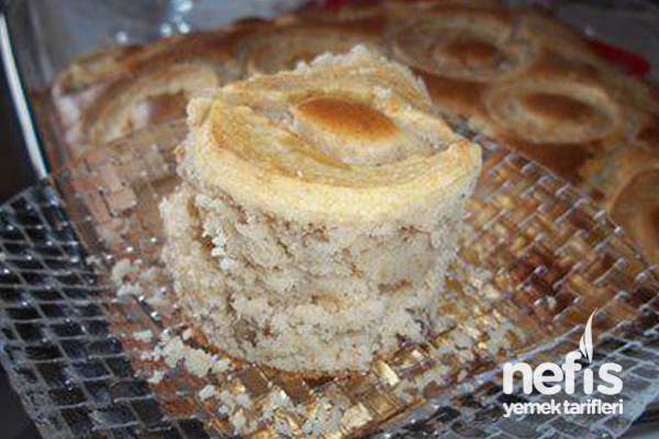 Porsiyonluk Elmalı Kek Tarifi
