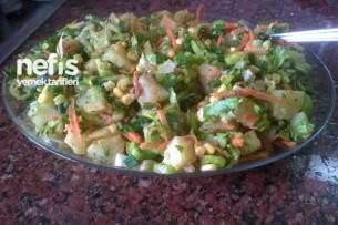 Pratik Patates Salatası Tarifi