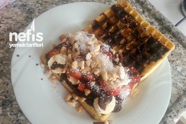 Pratik Waffle (Hazır Malzeme İle) 1