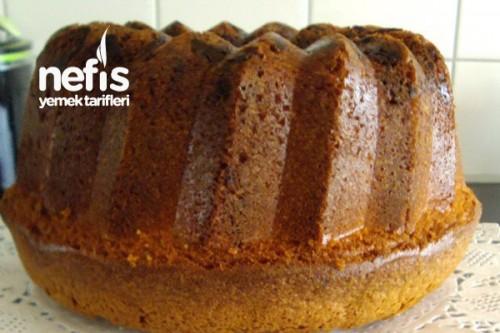 Pudingli ve Çikolatalı Kek Tarifi