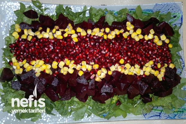 Rokalı Pancar Salatası Tarifi