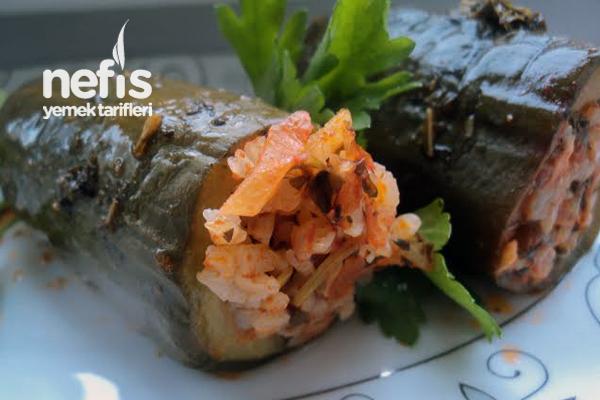 Salatalık Dolması (Sivas) Tarifi