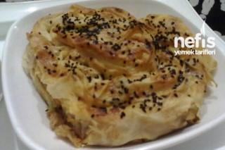 Sebzeli Tavuklu Gül Böreği Tarifi