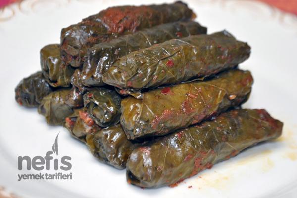 soslu yaprak sarması 1