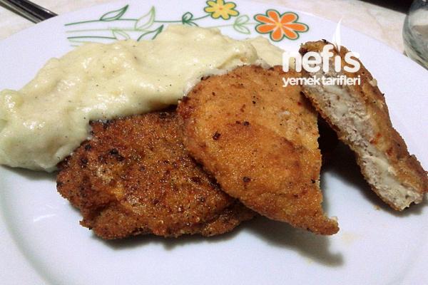 Tavuk Köfte Ve Patates Püresi Tarifi