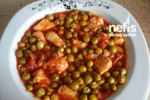 Tavuklu Bezelye Yemeği - Nefis Yemek Tarifleri