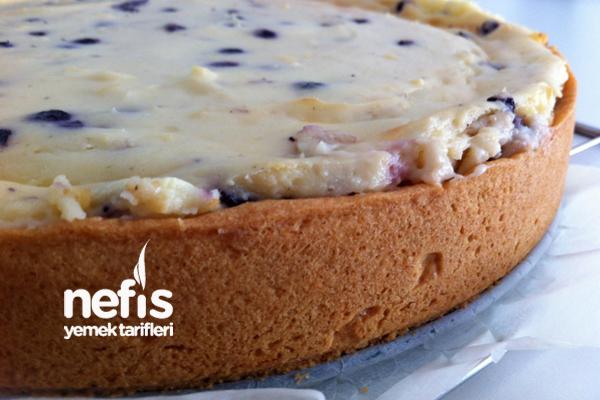 Yaban Mersinli Pasta 3