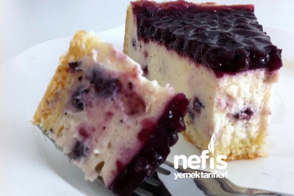 Yaban Mersinli Pasta 5