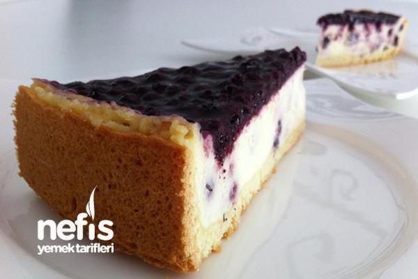 Yaban Mersinli Pasta 6
