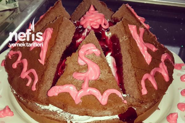 Yanardağ Pastası Yapımı Tarifi