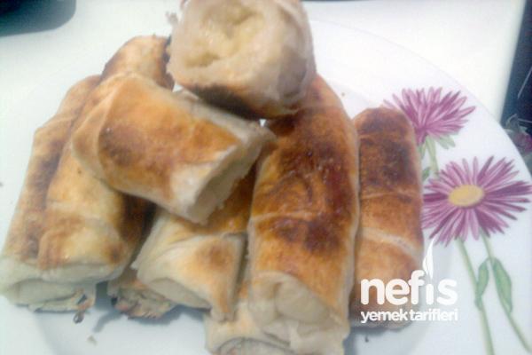 Yoğurtlu Patatesli Sarma Börek Tarifi