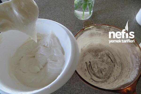 Beyaz Melek Pastası 5