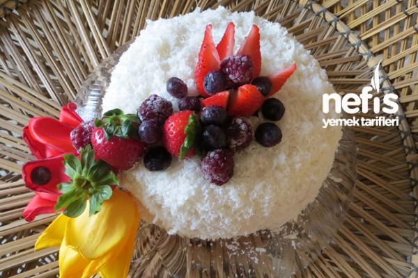Beyaz Melek Pastası 6