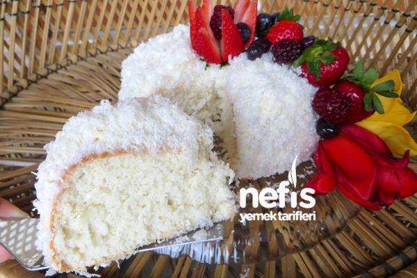 Beyaz Melek Pastası 7