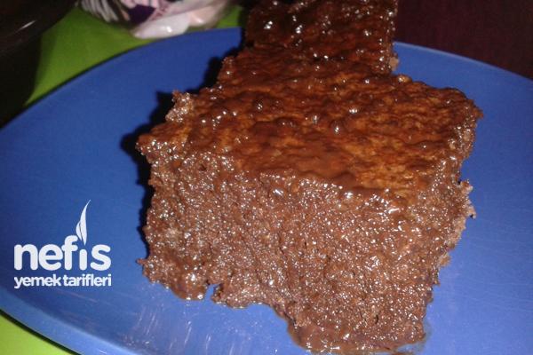 Çikolata Soslu Çaylı Ve Nescafeli Islak Kek Tarifi