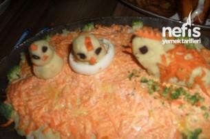 Civciv Patates Salatasının Tarifi