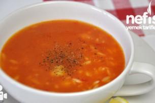 Domatesli Şehriye Çorbası Nasıl Yapılır?
