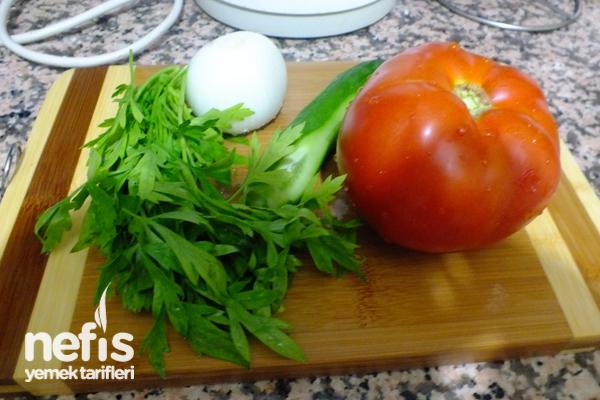 Domates Salatası Tarifi 1