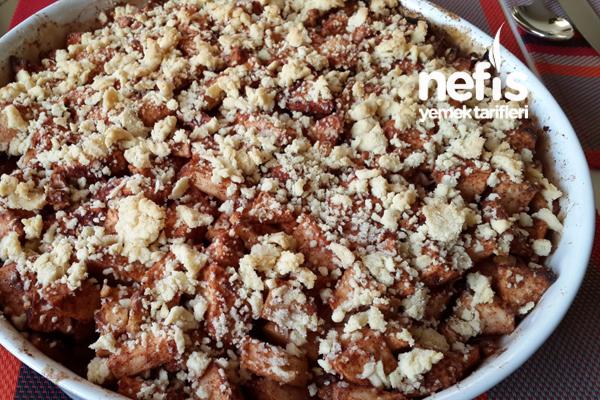 Elmalı Crumble ( İngiliz Elma Tatlısı ) Tarifi